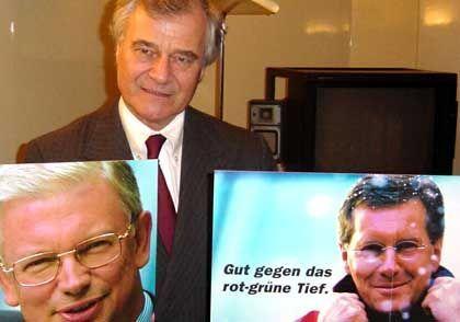 Coordt von Mannstein schuf die Kampagnen für Roland Koch und Christian Wulff