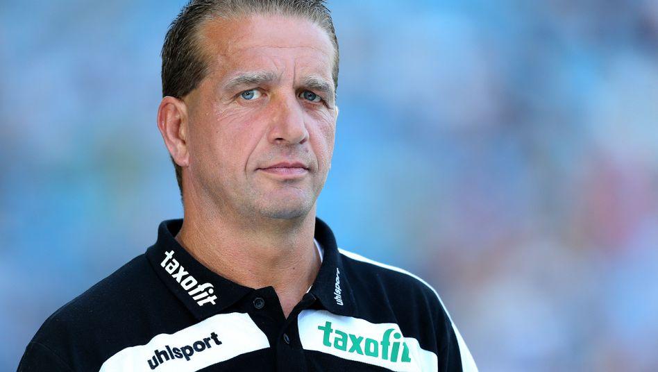 Unter Verdacht: Andreas Petersen, sportlicher Leiter von Germania Halberstadt