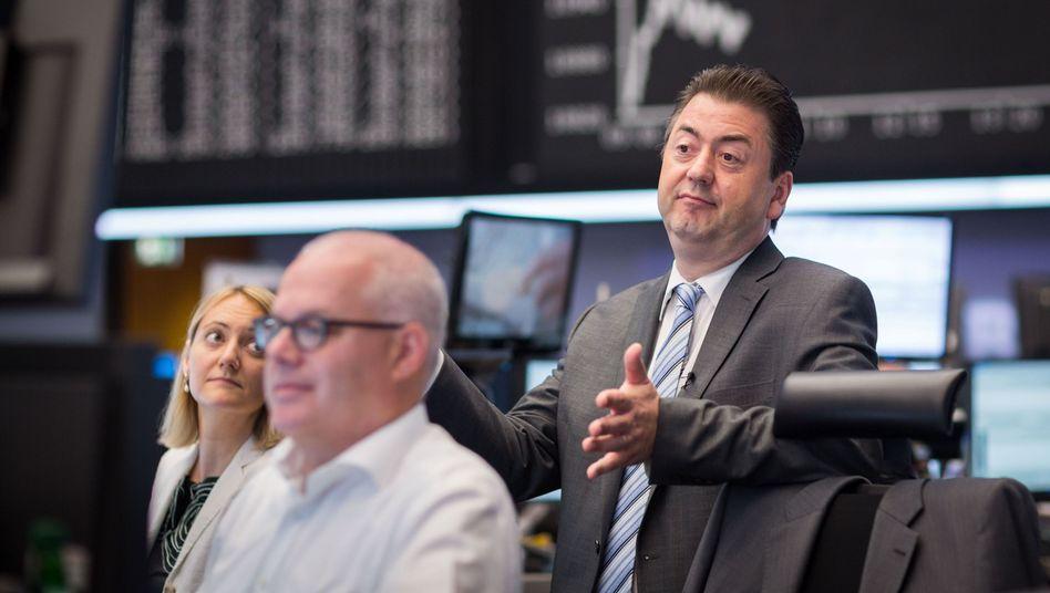 Handelssaal in Frankfurt: Die Märkte setzen auf einen erfolgreichen Abschluss