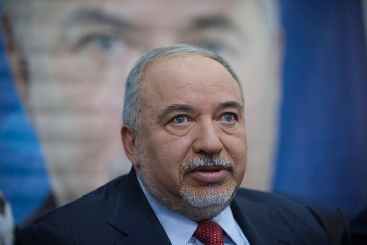 Avigdor Lieberman: Er ist der Königsmacher bei dieser Wahl - ohne seine Partei kann keine Regierung gebildet werden