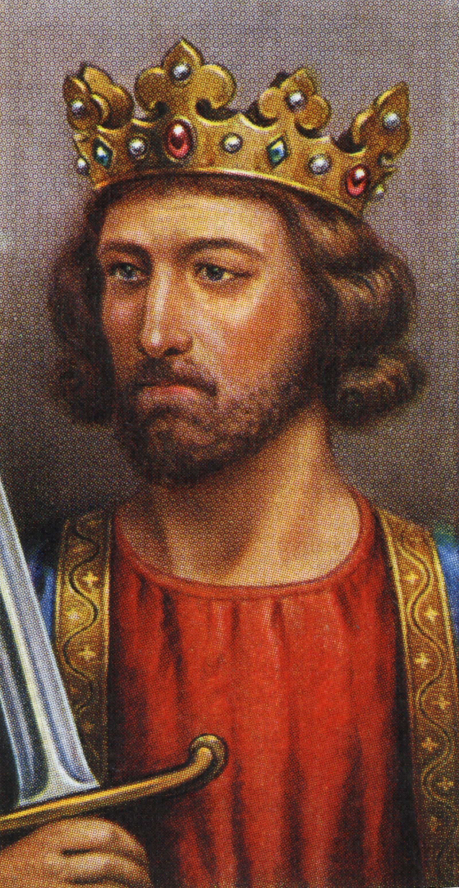 King Edward I portrait (reigned 1272 -