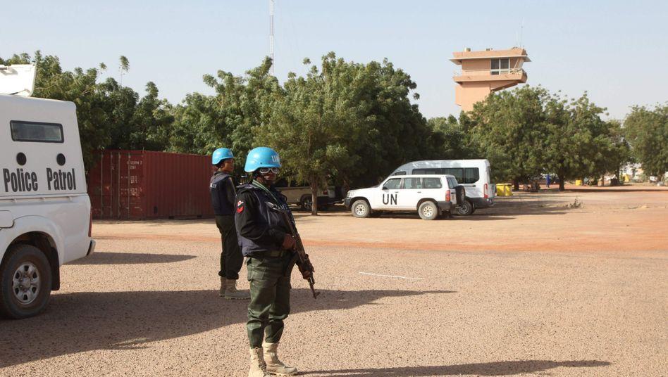 Uno-Blauhelmsoldaten in Mali (Archivbild): Verletzte und Tote bei Anschlag