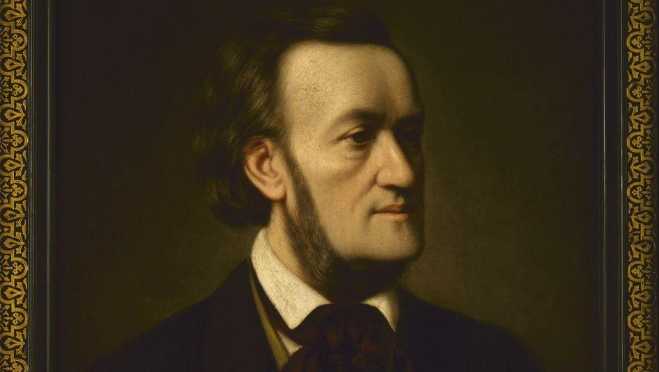 Porträt des Komponisten Richard Wagner von Cäsar Willich