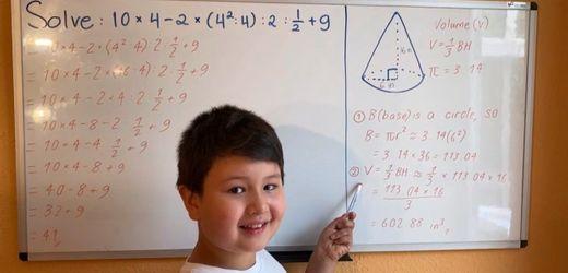 Hochbegabter achtjähriger Friedrich Wendt: »Seine Intelligenz kennt keine Grenzen«