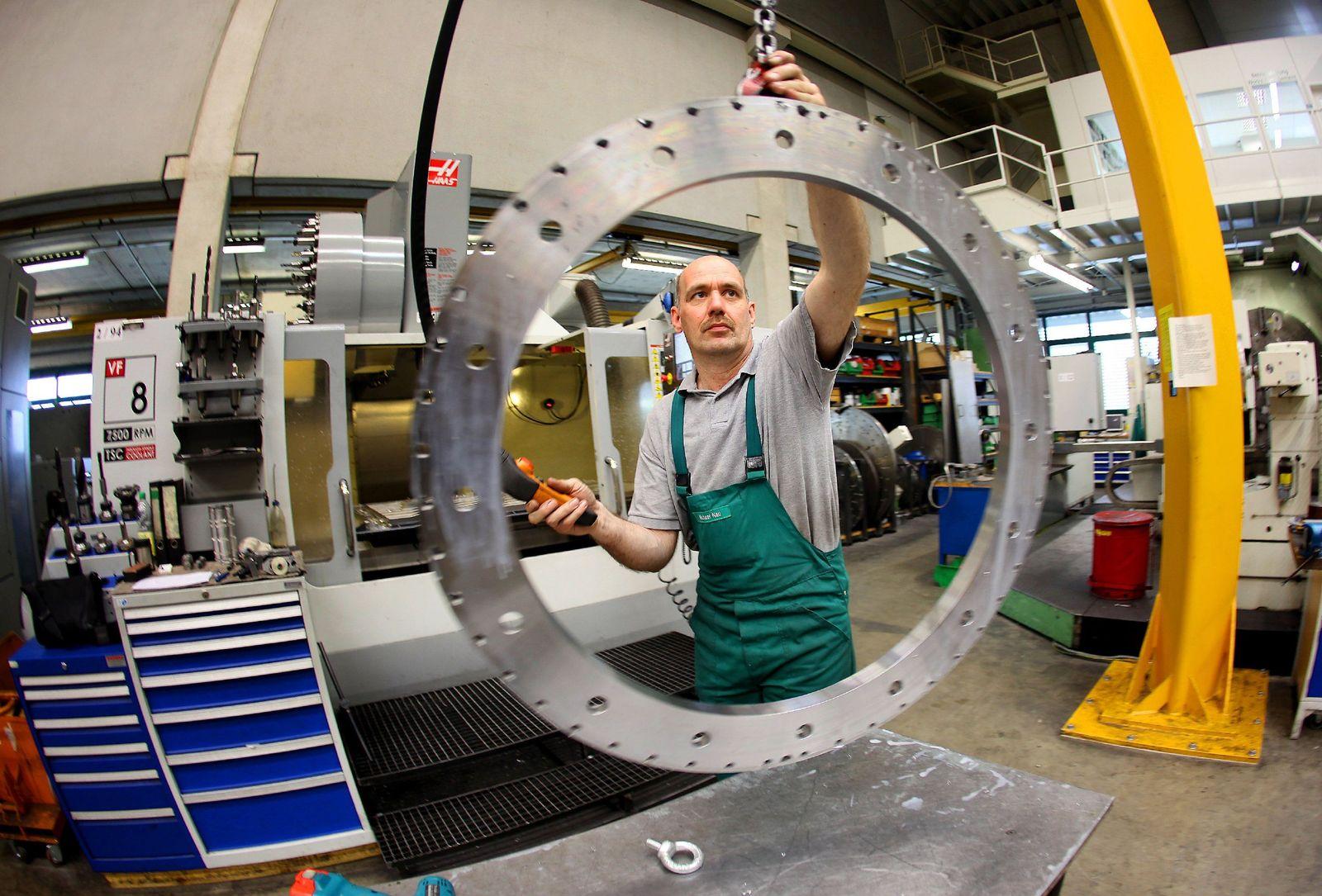 Konjunktur/ Maschinenbau