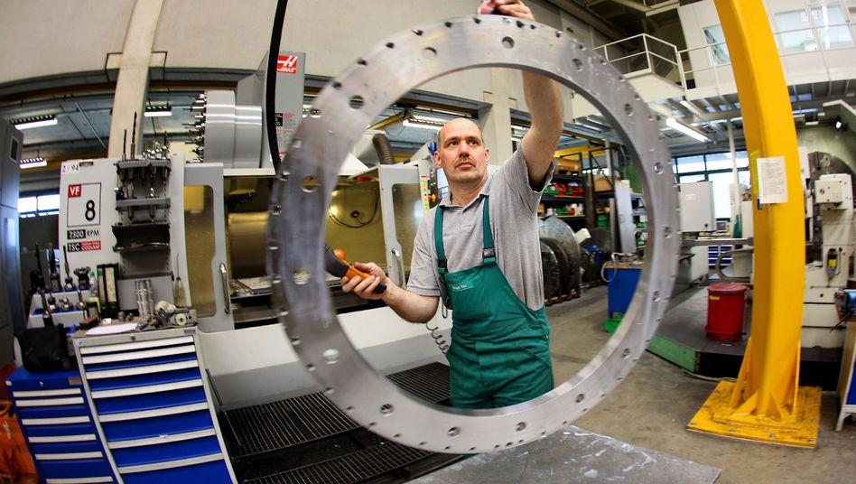 Maschinenbauer in Haan: Stimmung in der deutschen Wirtschaft hat sich deutlich verbessert