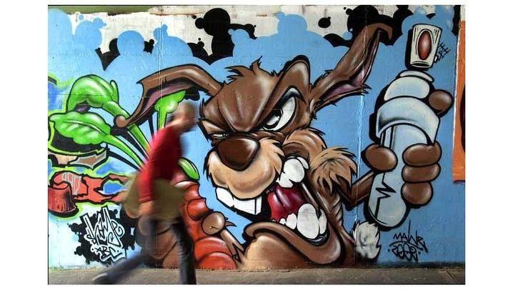 Graffiti in Europa: Bunt, schrill, illegal