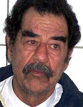 Saddam: Starrsinnig wie eh und je