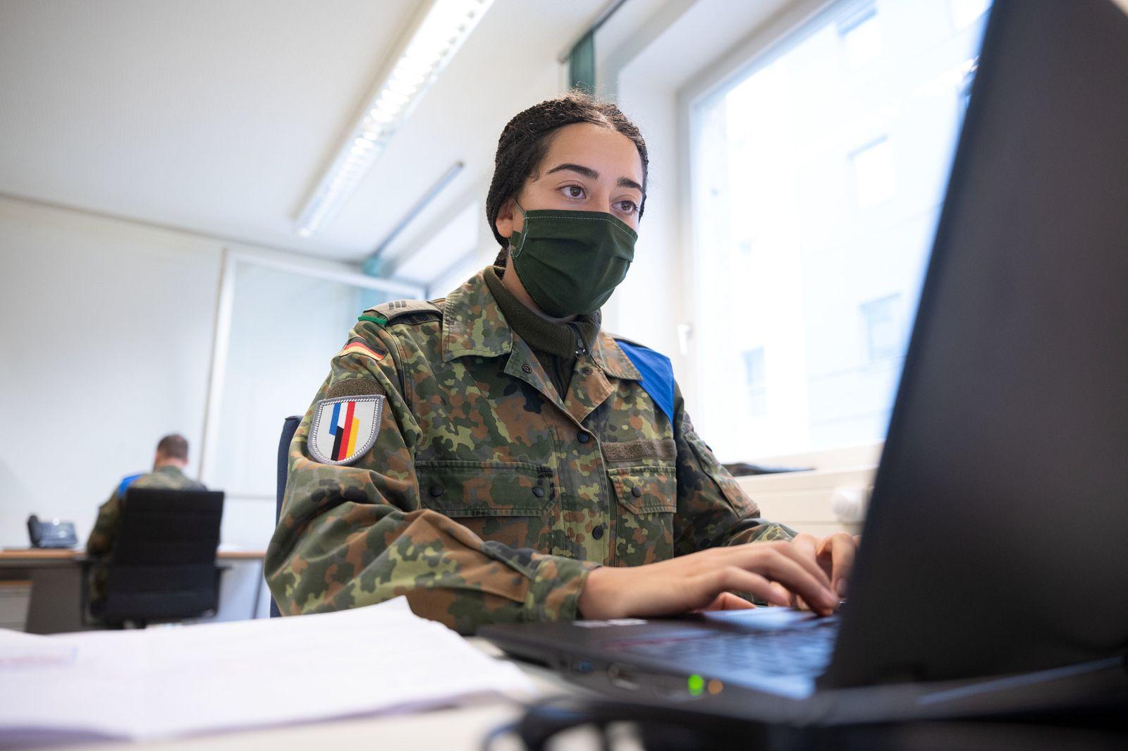Bundeswehr unterstützt Gesundheitsamt Stuttgart