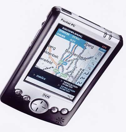 Pocket PC mit GPS-Navigation: Virenbefall nicht mehr ausgeschlossen