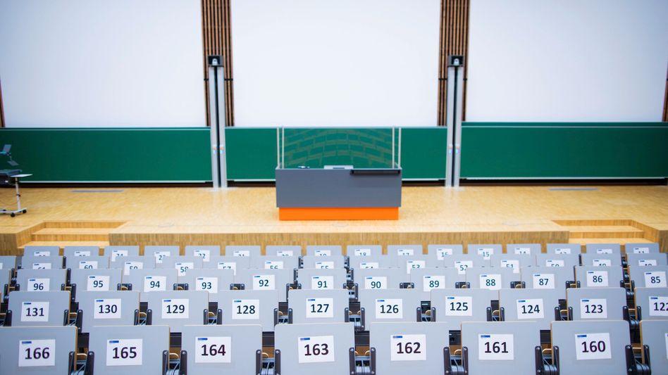 Hörsaal der Universität Duisburg-Essen