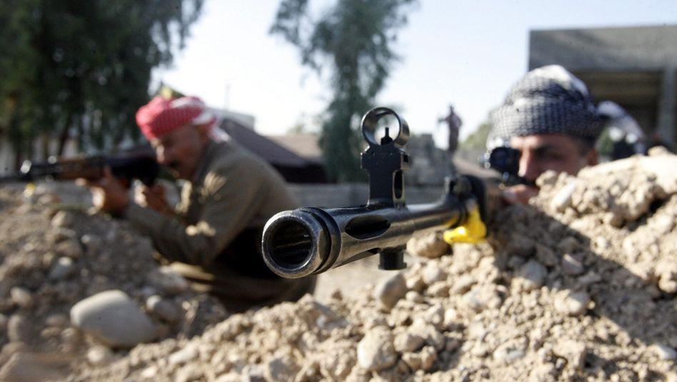 Kurdische Peschmerga-Kämpfer im Nordirak: Waffen aus dem Westen?