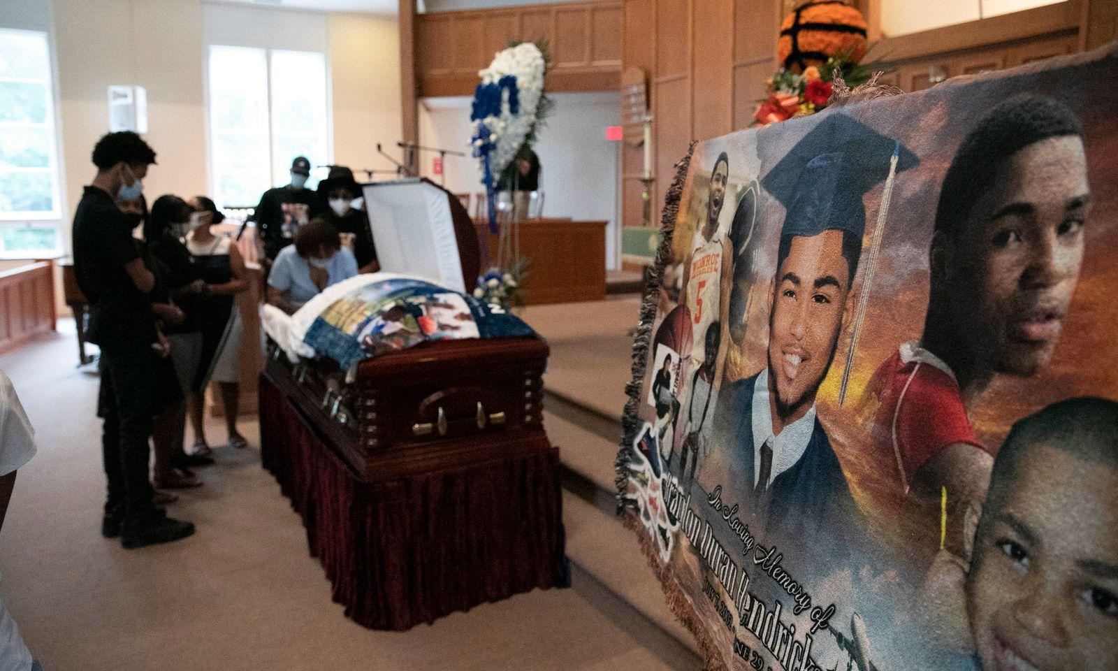 Basketball Star Funeral