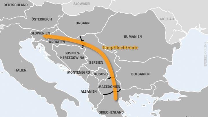 Alternative Flüchtlingsrouten: Neue Wege durch Europa