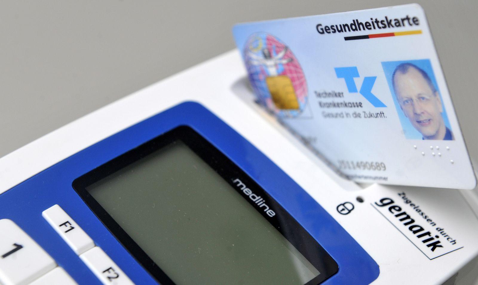 NICHT VERWENDEN Elektronische Gesundheitskarte