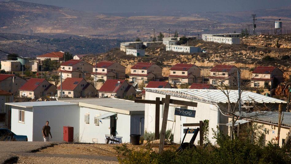 Jüdische Siedlung Eli im palästinensischen Westjordanland