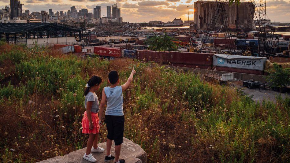 Beiruter Hafen im Sommer 2021: Von der hippen Metropole zur Geisterstadt