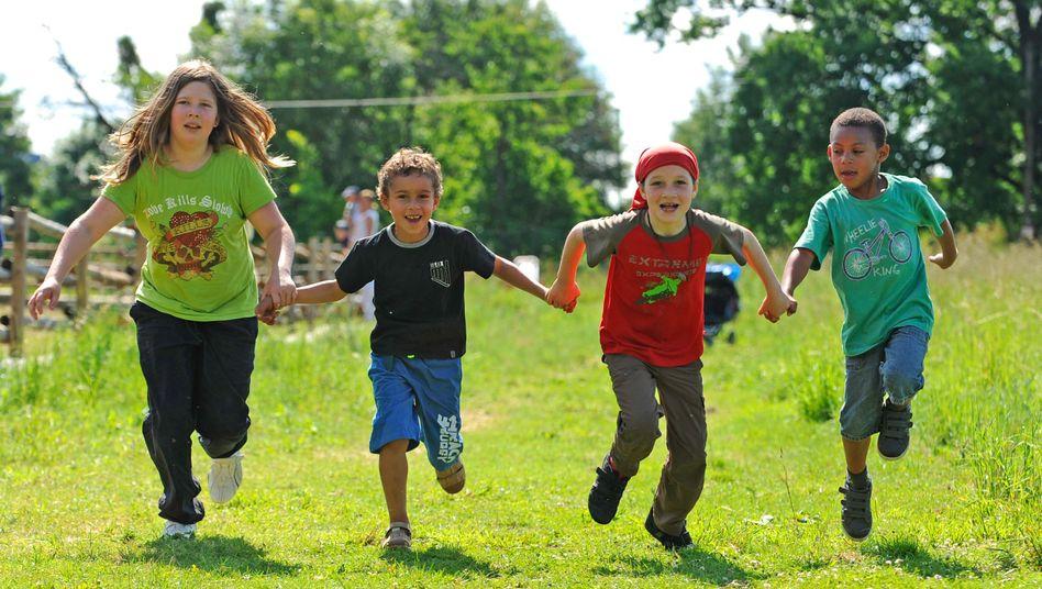 Laufende Kinder: 9- bis 17-Jährige sind weniger fit als vor 30 Jahren