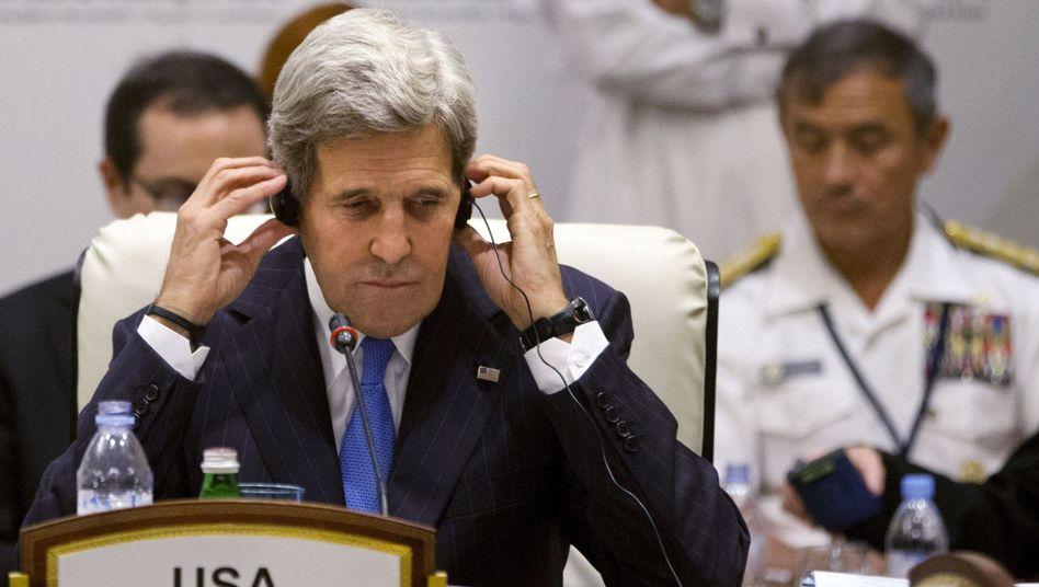 """US-Außenminister John Kerry: """"Wir wollen beide Seiten zusammenbringen, um die Gewalt zu beenden!"""""""