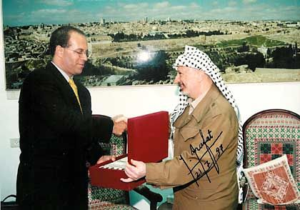 """Lev und Arafat: """"Es geht um viel Geld"""""""