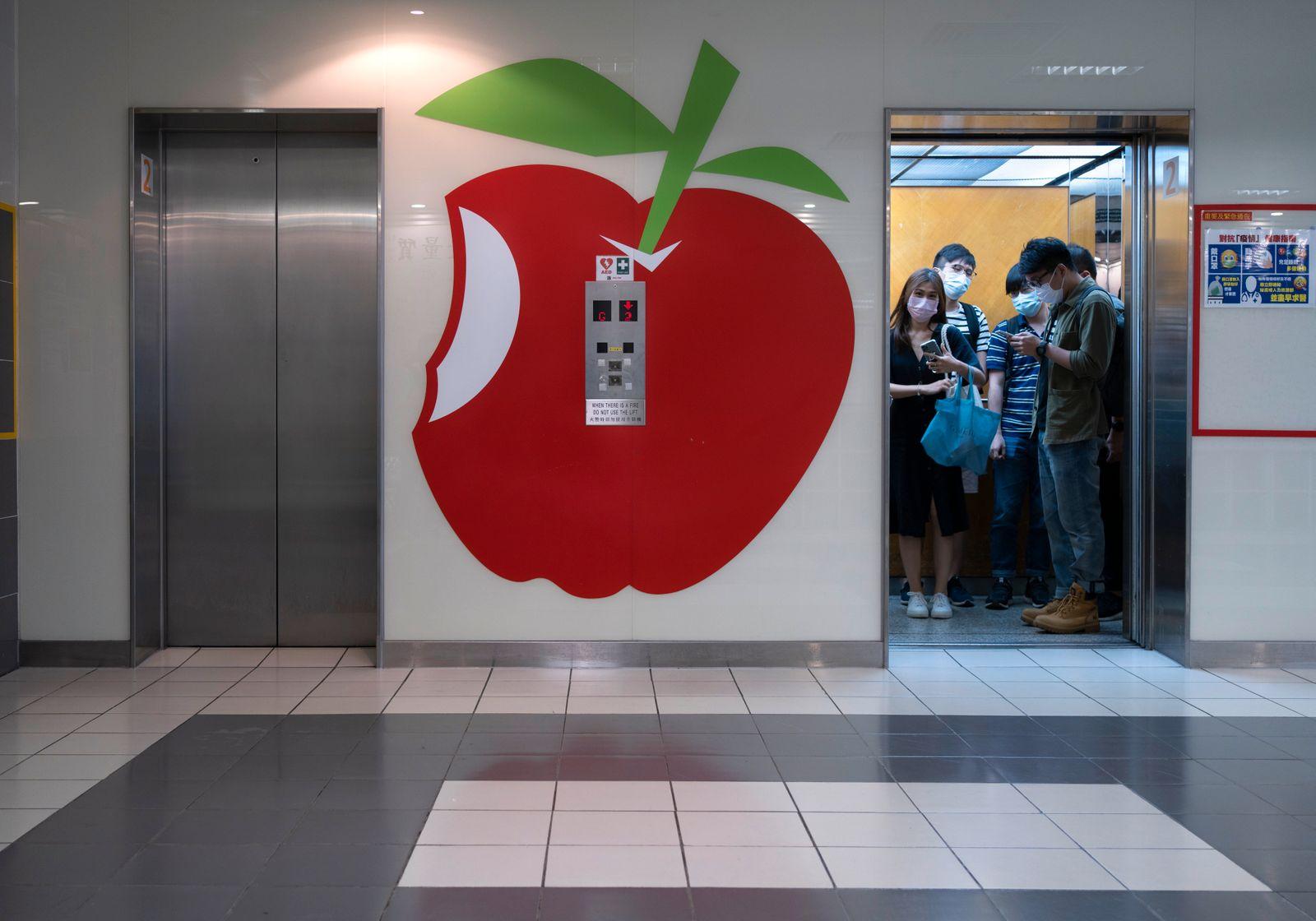 Hong Kong Apple Daily Photo Gallery