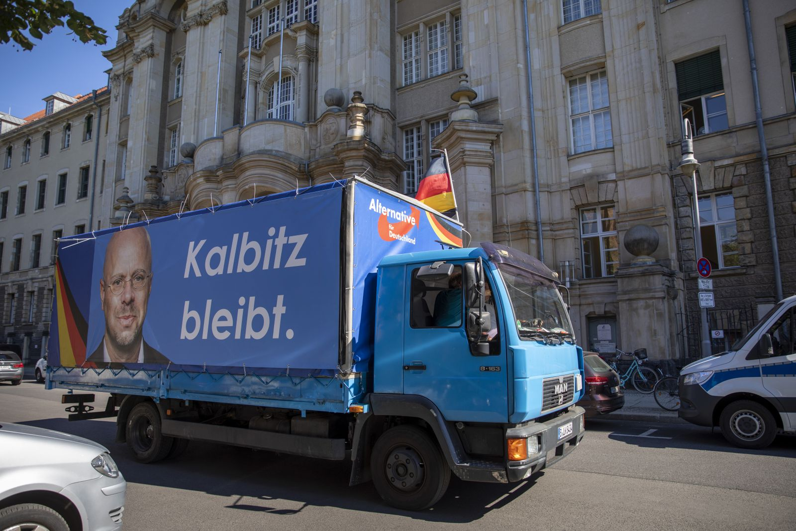 Andreas Kalbitz Goes To Court Over Expulsion From AfD