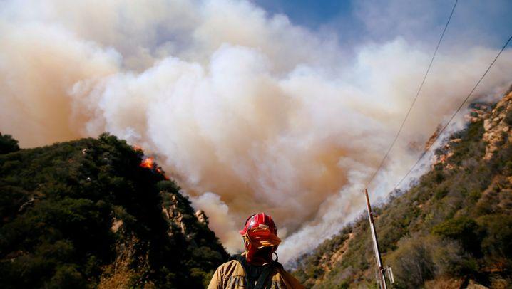 Waldbrände: Die Feuerkatastrophe von Kalifornien