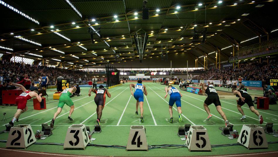 Leichtathleten in Dortmund