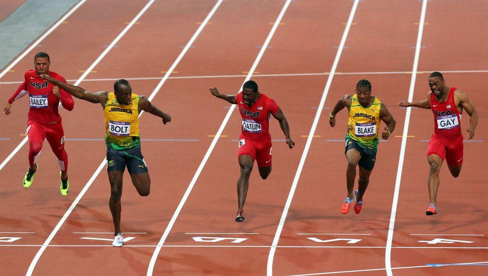 100-Meter-Sprint: Der Goldlauf des Usain Bolt