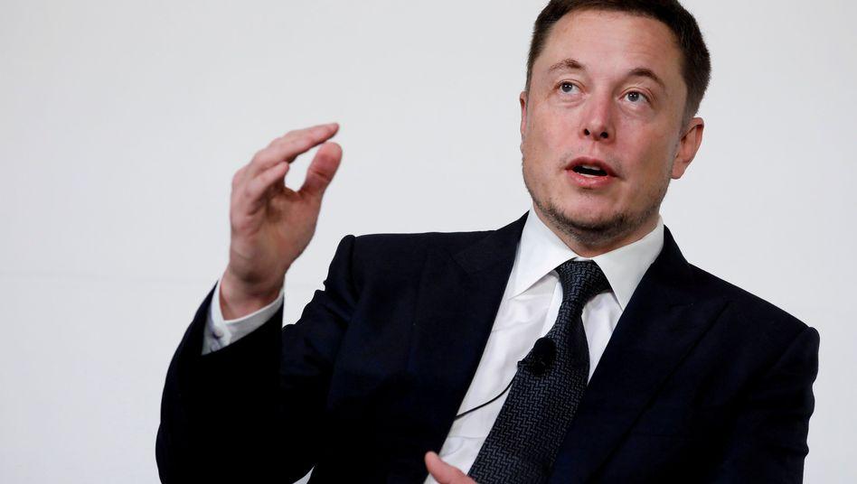 Tesla-Gründer Elon Musk