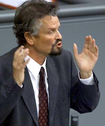 Wieder auf Schröder-Kurs: Gernot Erler (SPD)