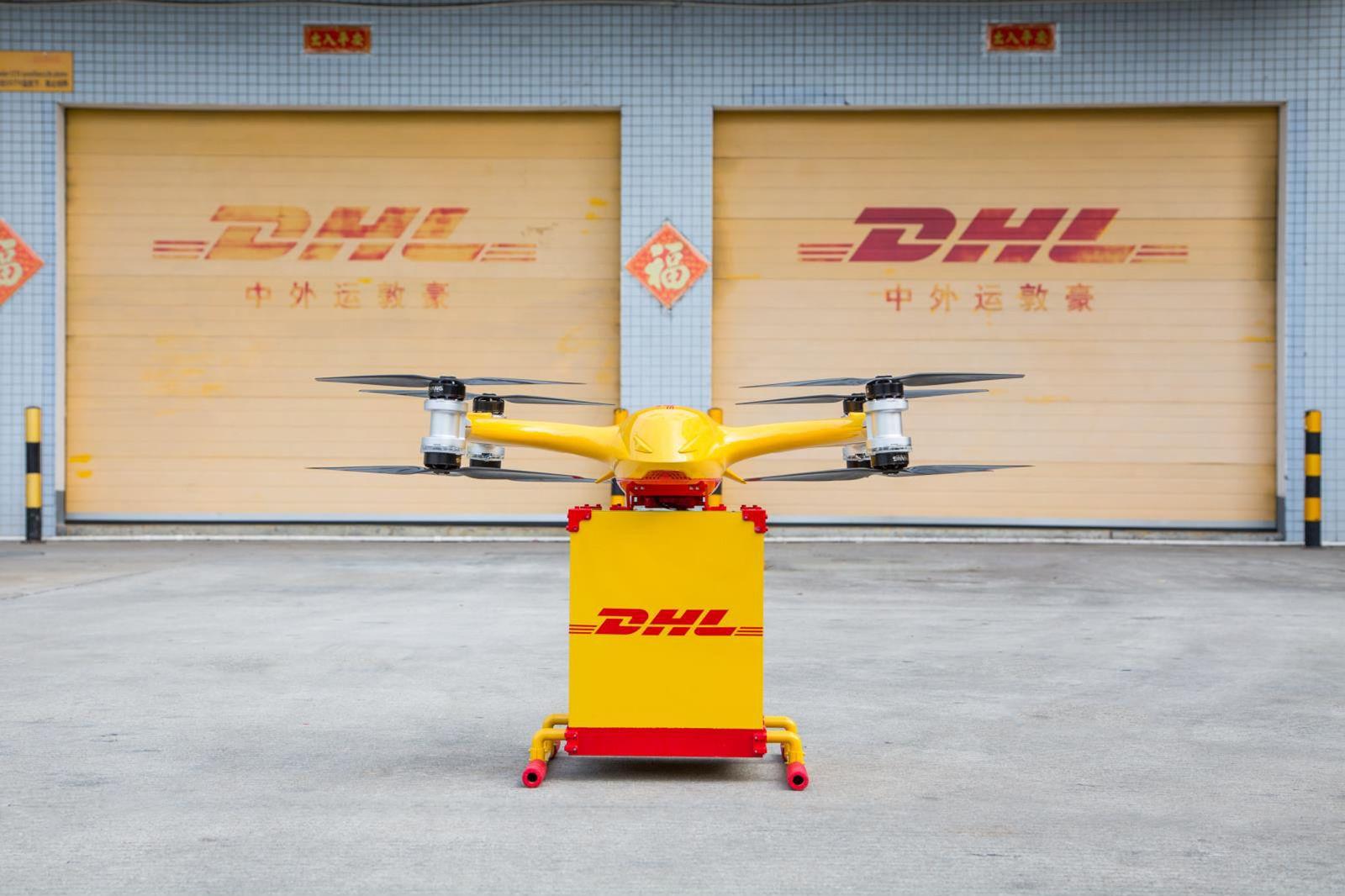 Erste innerstädtische Drohnen-Lieferungen in China aufgenommen