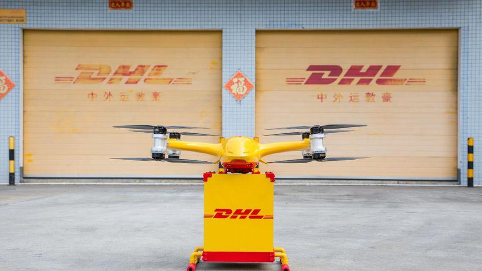 Lieferdrohne von EHang und DHL-Sinotrans