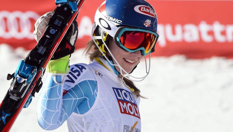 Skirennläuferin Shiffrin: US-Amerikanerin siegt im WM-Slalom
