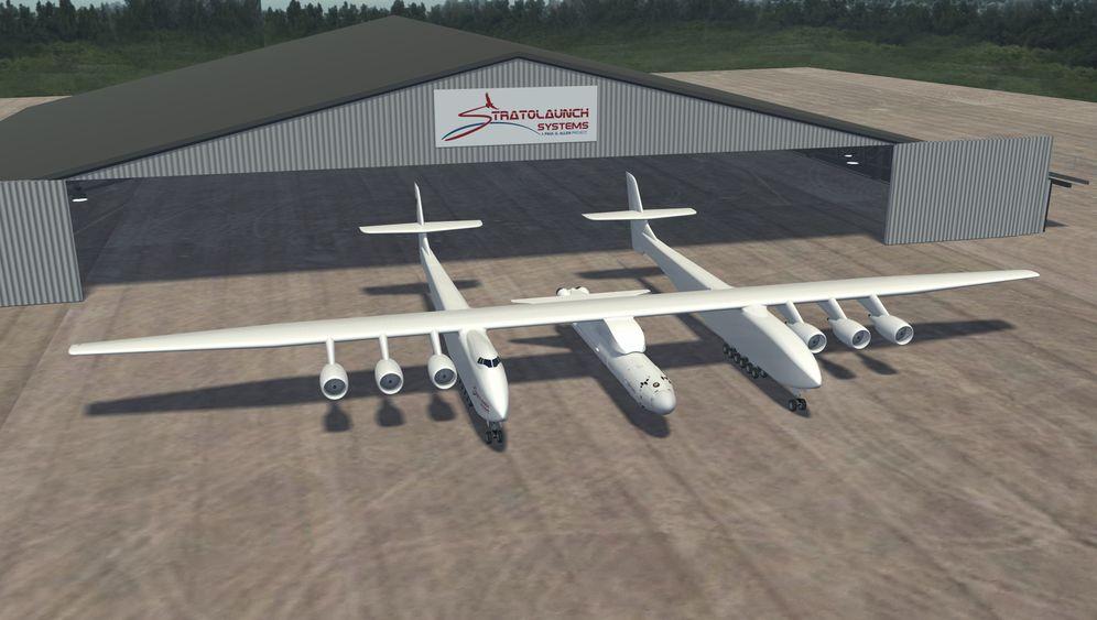 Paul Allens Riesenflugzeug: Startrampe für Raumschiffe