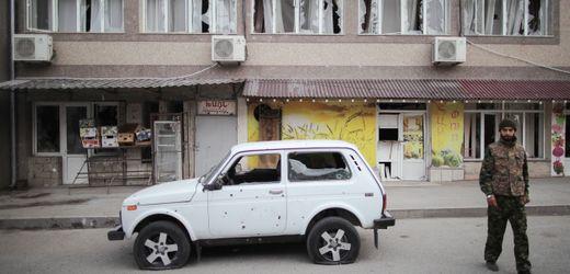 Bergkarabach Armenien übergibt mehr als 120 Orte an Aserbaidschan