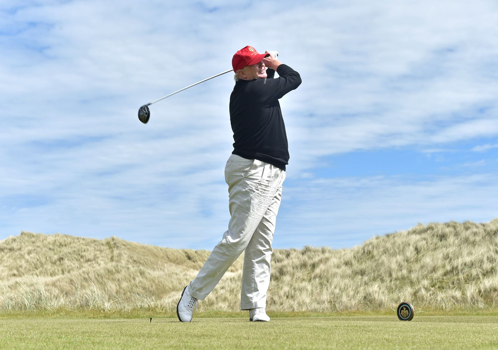 Donald Trump in Aberdeen to Open New Multi-Million Pound Clubhouse.