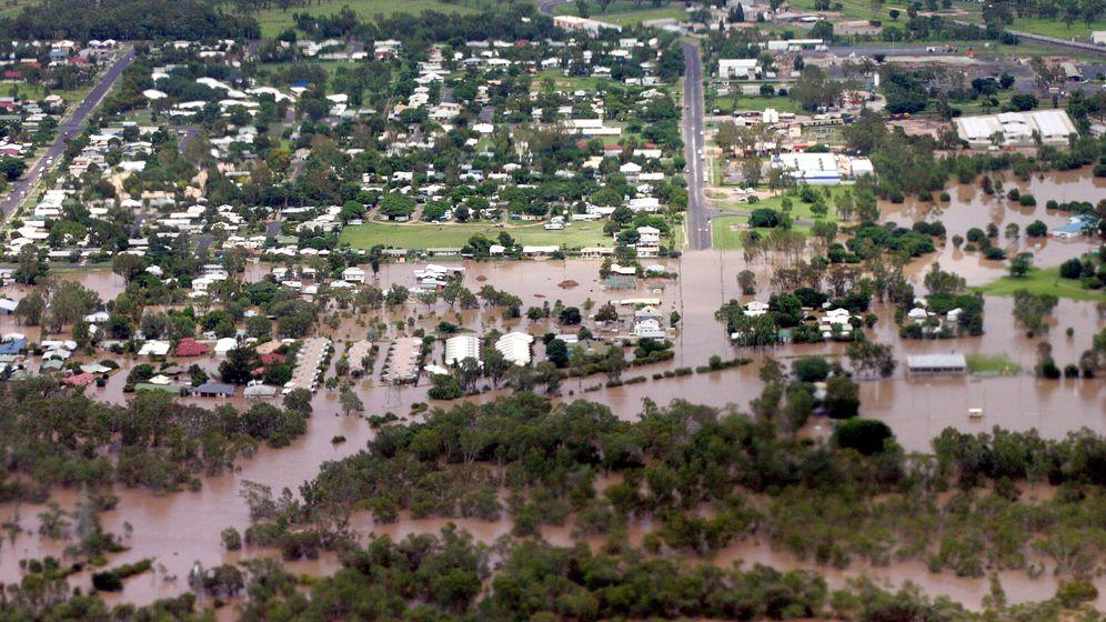 Flut in Australien: Unvorstellbare Wassermassen