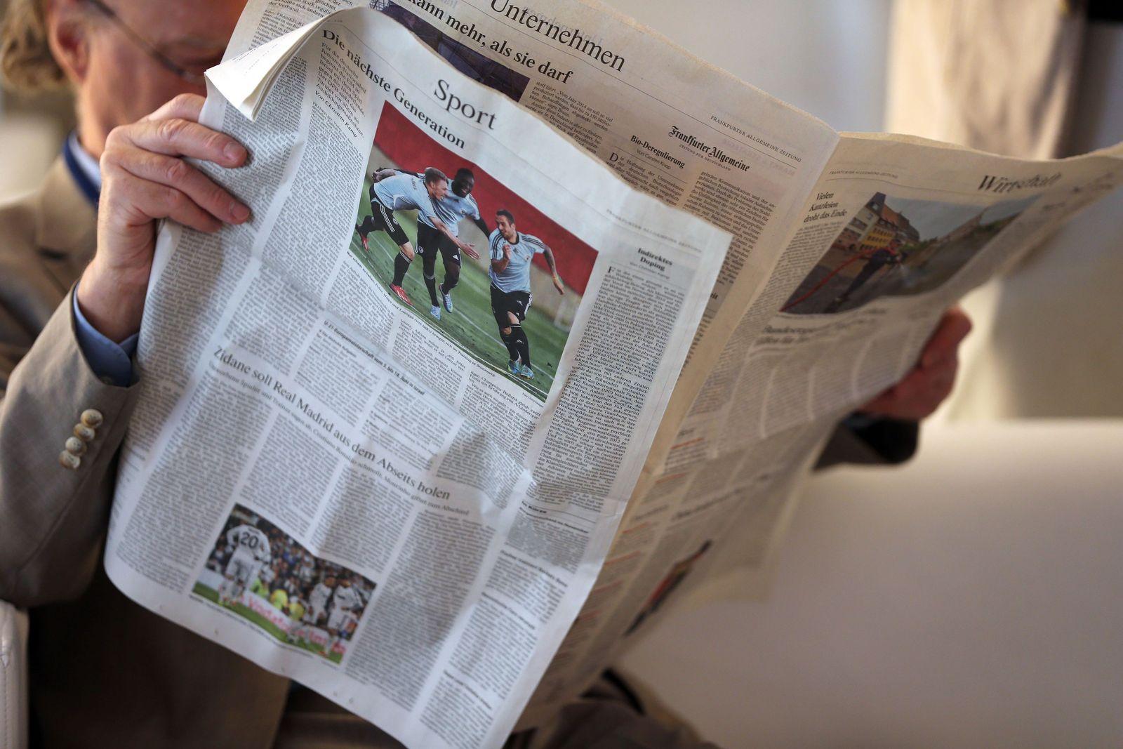 Medien/ Tageszeitung
