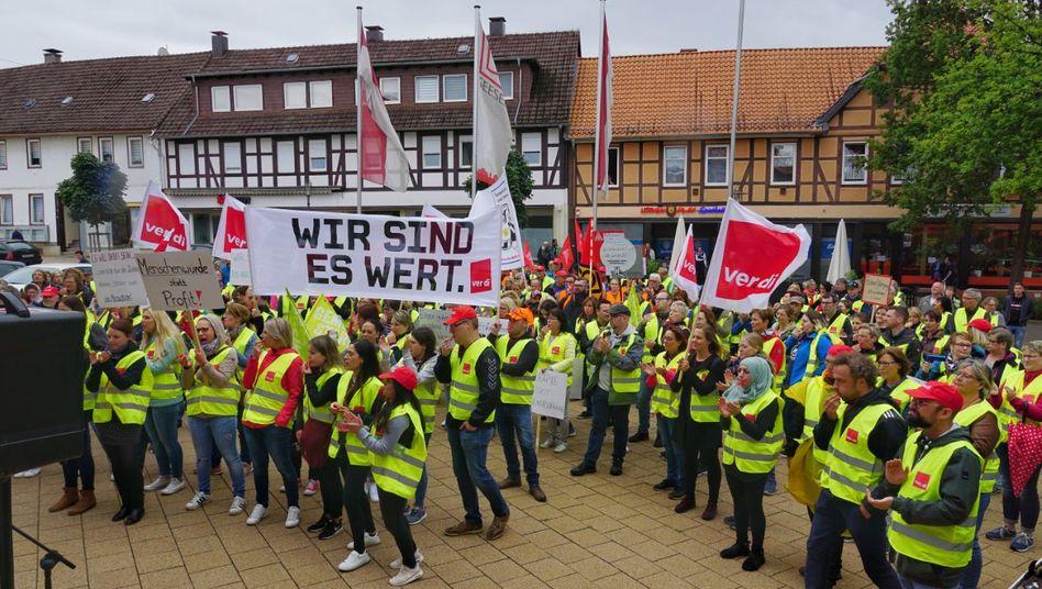 Streik in Seesen