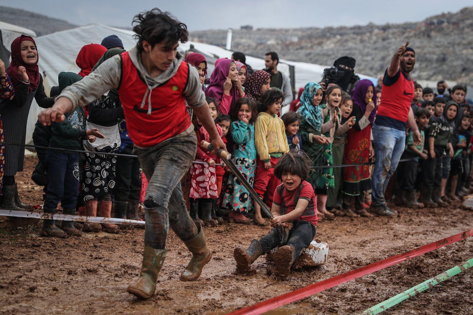 Flüchtlingslager Baraem in Syrien