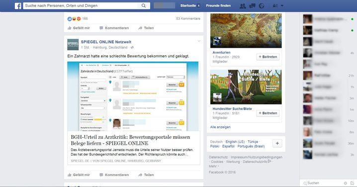 Facebook protokolliert minutengenau, wann jemand online ist