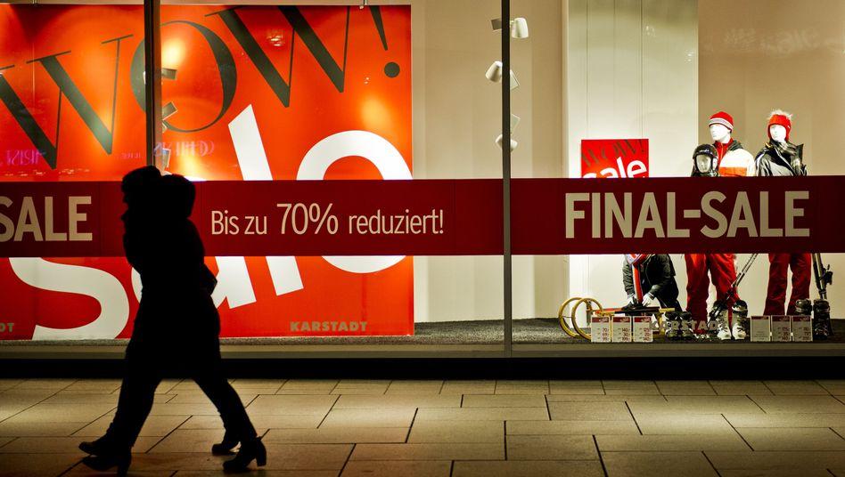Einkaufsstraße in Frankfurt am Main