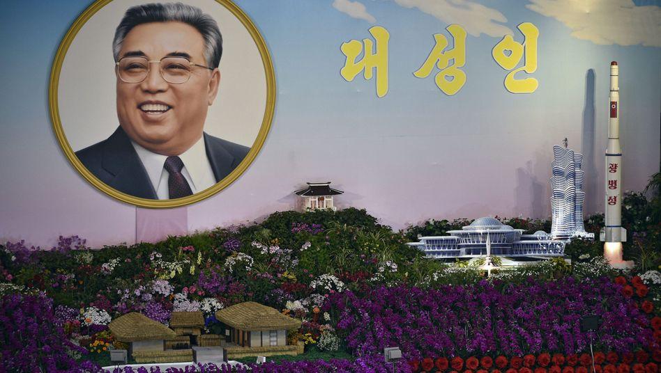 Gedenken an Staatsgründer Kim Il Sun