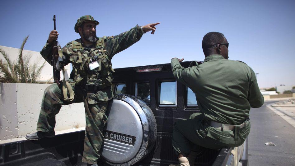 Aufständische in Libyen: Die Kämpfer haben die Ölstadt Brega eingenommen