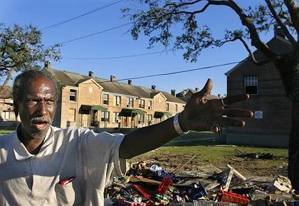 Trümmer in einem Viertel von New Orleans: Größtes Wiederaufbau- Projekt der US-Historie