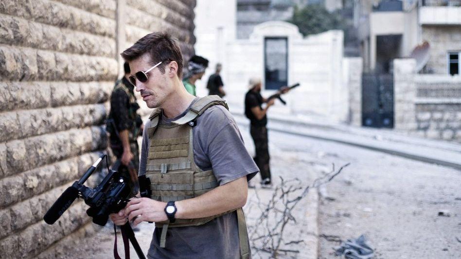 Reporter Foley in Syrien 2012 Gezielt verschleppt