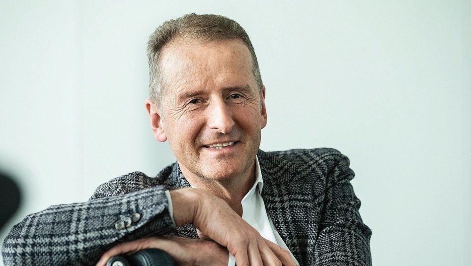 VW-Chef Herbert Diess: VW ist in eine Führungskrise geschlittert