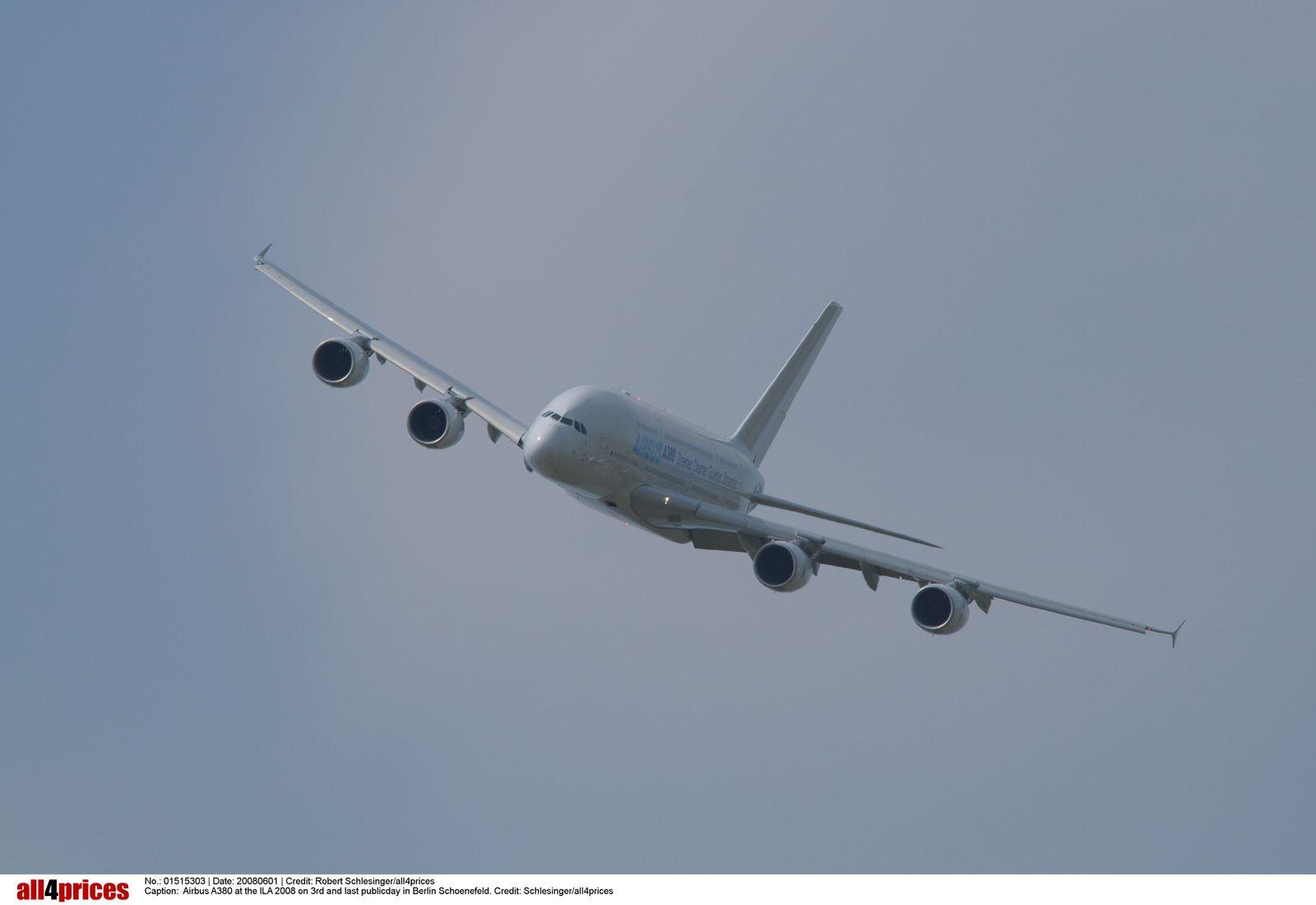 EINMALIGE VERWENDUNG SPIEGEL Plus SPIEGEL 12/2017 S. 108 Airbus A380 STARTBILD
