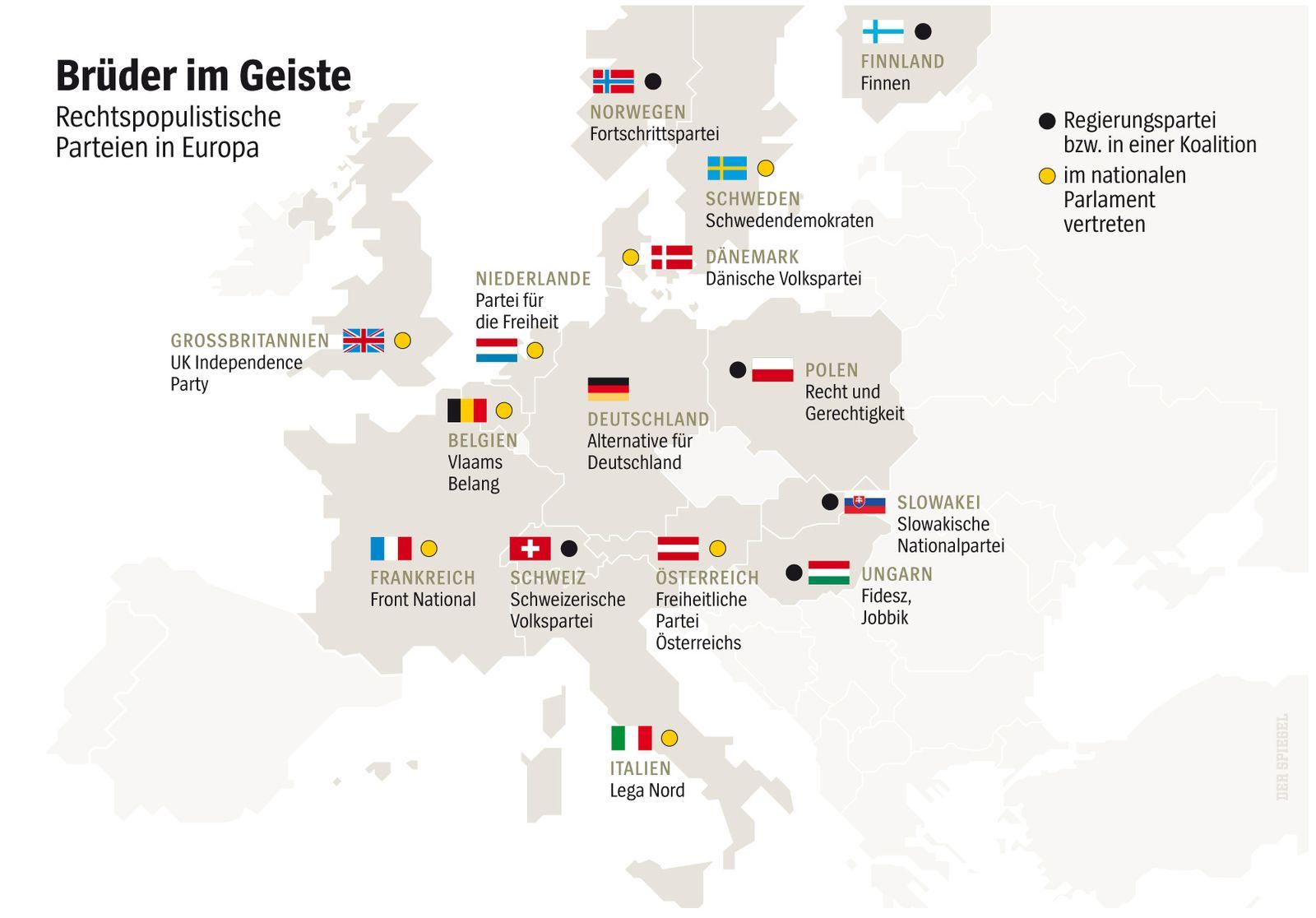 SPIEGEL Plus SPIEGEL 2016/43 S.40: SPIEGEL-Gespräch zum Aufstieg der Populisten